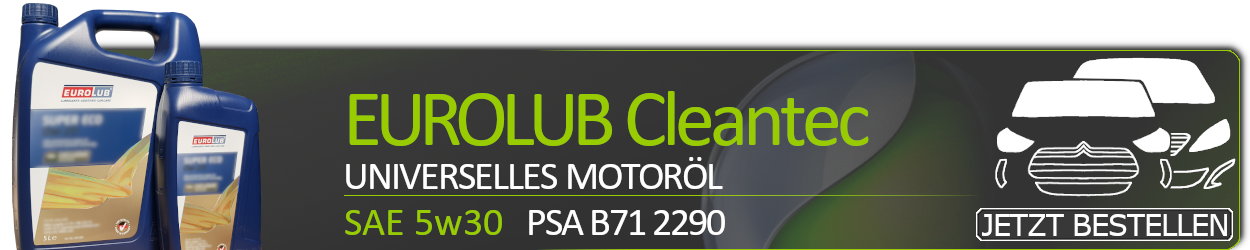 Eurolub Motoröl 5W30 Cleantec (Mid Saps)