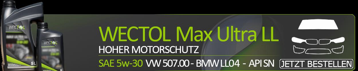 Wectol Max Ultra LL 5w30